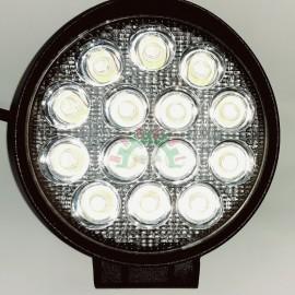 Lampa robocza diodowa okrągła, 14 - led x 3W, 42W