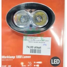 Lampa robocza owalna LED