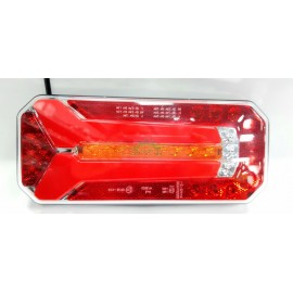 Lampa tylna zespolona prostokątna dynamic LED 12-24V