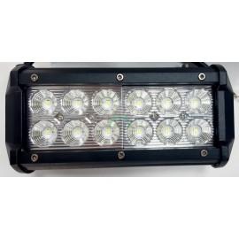 Lampa robocza diodowa prostokątna, 12 - led x 3W