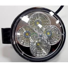 Lampa robocza diodowa okrągła, 4 - led x 3W