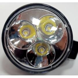 Lampa robocza diodowa okrągła, 3 - led x 3W