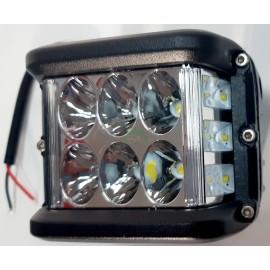 Lampa robocza diodowa prostokątna, 12 - led x 4W